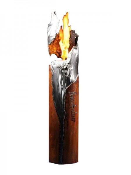 Feuersäule Metallkunst